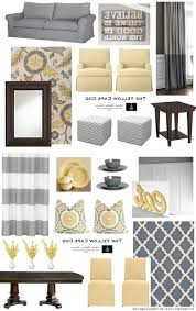 Pale Yellow Living Room by Home Design 93 Enchanting Grey And Yellow Decors