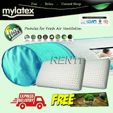 Eco Mattress Topper 2 5 5 Queen Mylatex 100 Natural Pinhole Latex Topper With 2 Hb108