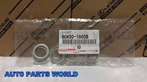 jm lexus parts department amazon com toyota drain plug gaskets for transfer case set of 10