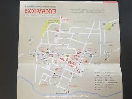 Solvang Map Solvang Un Pueblo Danés En California