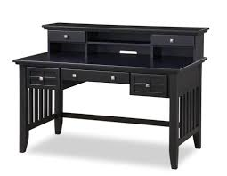 Modern Desk With Drawers Furniture Wooden Black Desk With Drawers For Desk The
