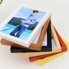creative desktop wooden frame photo home wall picture frame