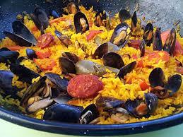 cuisine catalane recettes recette de paella de moules à la catalane