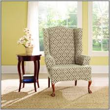 Wing Back Chair Slip Covers Pottery Barn Anywhere Chair Cover Pattern Chairs Home