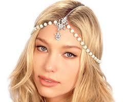 pearl headpiece pearl headpiece etsy
