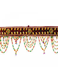 wall hanging beads indian beaded door valances window toran home
