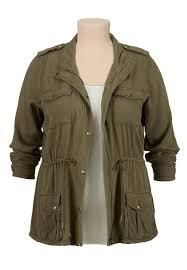 plus size light jacket lightweight military plus size anorak jacket fashion inspiration