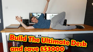 build the ultimate 3 meter long computer desk dinner table youtube