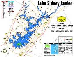 lake lanier map gainesville flowery branch ga estate articles