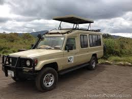 safari land cruiser arusha national park hawkebackpacking com