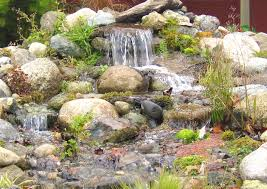 Small Garden Waterfall Ideas Architecture Inspiring Home Pondless Water Fountains Feature