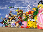 Here is a Super Smash Bros.