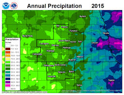 Oregon Climate Map by Annual Precipitation History