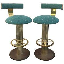 bar stools metal swivel with back traditional design leather
