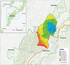 Wildfire Map National by Shenandoah Wildfire Highlights Changing Views Of The Forest C