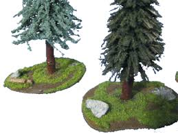 25mm 28mm tree bases