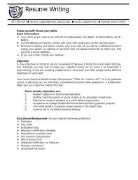 resume exles for objective section waitress resume exles