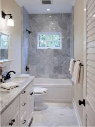 Narrow Bathroom Design How To Draw The Narrow Bathroom Layout Home Interior Design