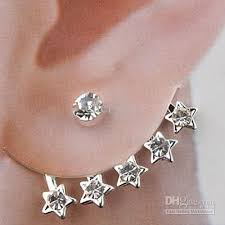 ear cuff online ear cuff pentagram pandent wedding jewelry earring