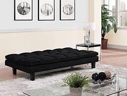 futon pillows dhp allegra pillow top futon black wall s furniture decor