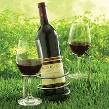 outdoor wine glass holder table outdoor wine glass holders outdoor housewares wine enthusiast
