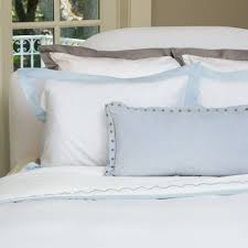 light blue and white bedding the linden light blue crane u0026 canopy