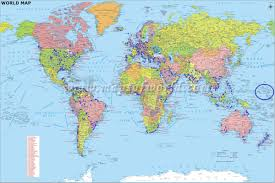 World Map With Countries Labeled by Large World Map With Countries Labeled