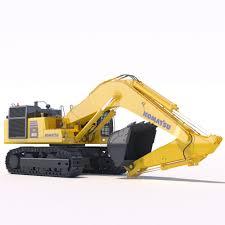 excavator 3d models download 3d excavator files cgtrader com