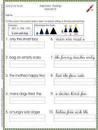 Proper Noun Worksheets For First Grade Sample Worksheet For The Order Of The Noun Family Study