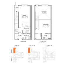 Bedroom Townhome Floorplans Legacy Brooks Apartments Bedroom - One bedroom townhome