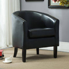 Club Armchair Leather Leather Club Chair Ebay