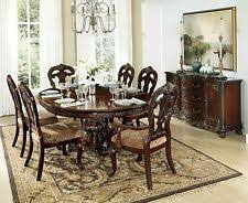 oval dining table set for 6 round dining sets 7 pieces ebay