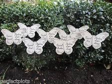 grave ornament memorial nan butterfly spike tribute rememberance