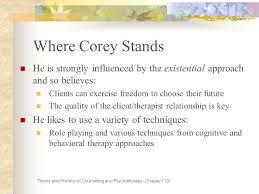 Corey Counselling Theory And Practice Theory And Practice Of Counseling And Psychotherapy Ppt