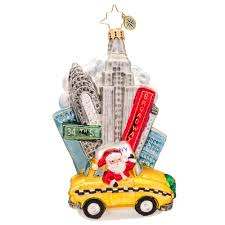 christopher radko ornaments 2015 radko new york city santa