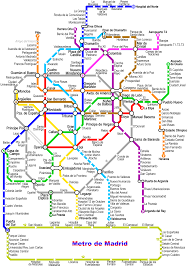 Santiago Metro Map by Madrid Subway Map My Blog