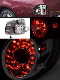 2001 Ford F150 Tail Lights Ford F150 1997 2003 Stepside Black Led Style Tail Lights