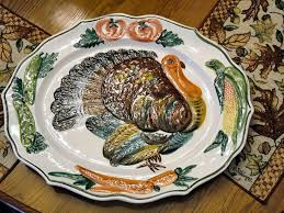 ceramic turkey platter 278 best thanksgiving images on ideas happy