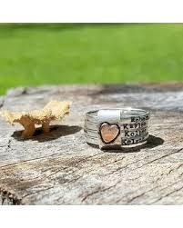 mothers rings silver images New savings on mothers rustic stacking rings personalized rings