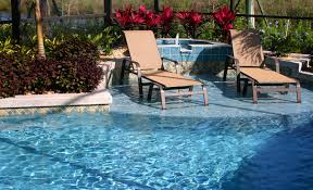 landscaping ideas for pool area inspiring picture of relaxing in
