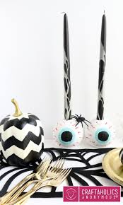 candles for halloween craftaholics anonymous spooky eyeball candle holders