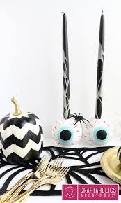 craftaholics anonymous spooky eyeball candle holders