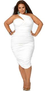 summer 2012 plus size trends white modern fashion style