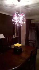 Kitchen Lights Bq - komet spherule chrome effect 20 lamp pendant ceiling light
