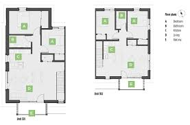Northpark Residences Floor Plan by The North Park Passive House Sustainable Architecture And