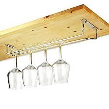 chrome plated glass rack 16inch glass hanger glass holder
