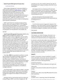 ayala property management corporation empowerment employment