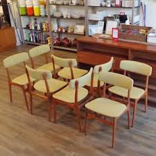 Schionning And Elgaard Mid Century Teak Dining Chairs Teak - Teak dining room chairs canada