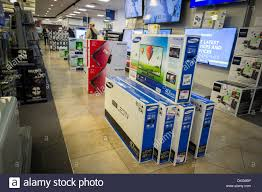best new electronics flat screen televisions on sale in a best buy electronics store in