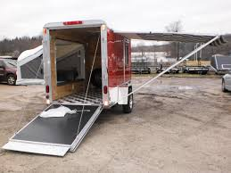 r and r all aluminum 5 x 10 worlds smallest toy hauler